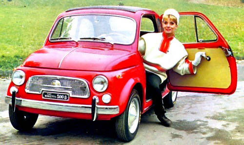 1963 Fiat 500 D Transformable/Convertible being Auctioned at ...