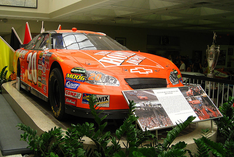 File:Tony Stewart Car2.jpg