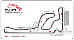 The Taupo Motorsport Park course